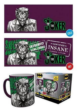 DC Comics - Joker Heat Change Mug, 330ml