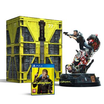 PS4 Cyberpunk 2077 Collector's Edition