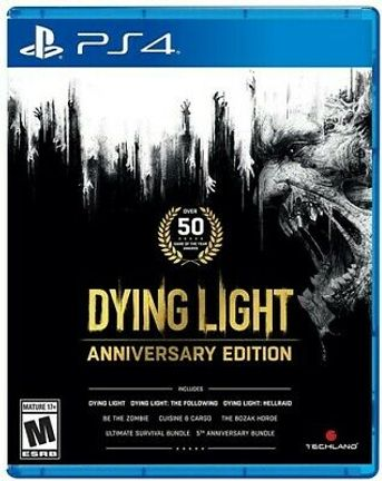 PS4 Dying Light Anniversary Edition US Version