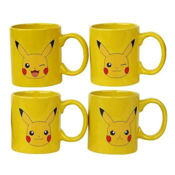 Espresso Set: Pokemon - Pikachu Mini Mugs 4-Pack