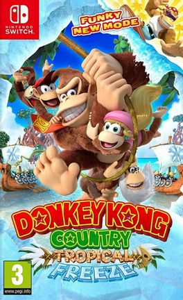 SWITCH Donkey Kong Country: Tropical Freeze [USED] (Grade A)