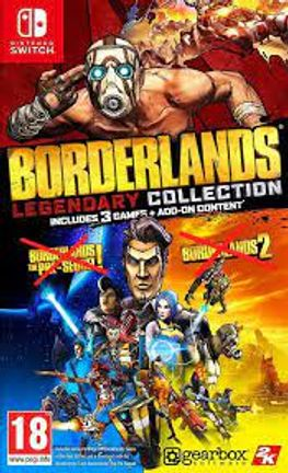 SWITCH Borderlands GOTY Edition [USED] (Grade A)