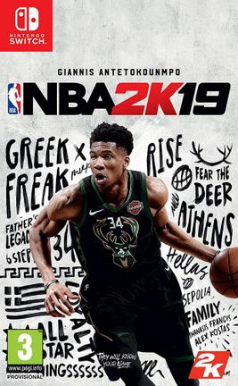 SWITCH NBA 2K19 [USED] (Grade A)