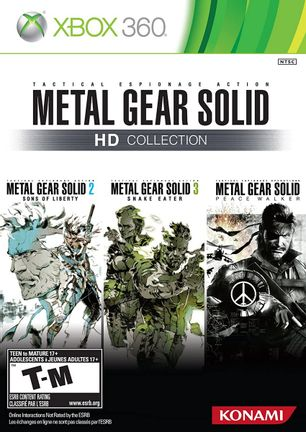 Xbox 360 Metal Gear Solid HD Collection US Version