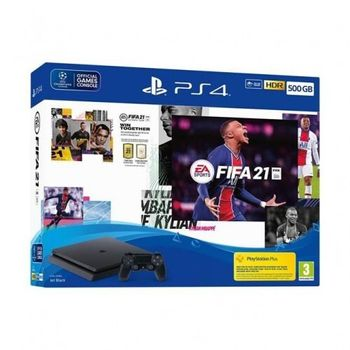 PlayStation 4 Slim 500 GB - FIFA 21 Bundle