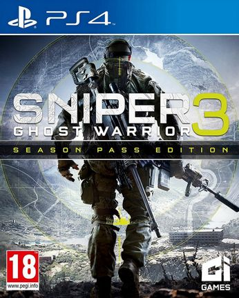 PS4 Sniper Ghost Warrior 3 [USED] (Grade A)