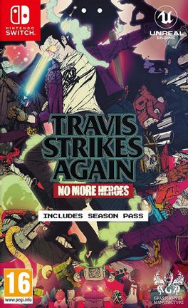 SWITCH Travis Strikes Again: No More Heroes [USED] (Grade A)