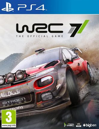 PS4 WRC 7: World Rally Championship [USED] (Grade A)