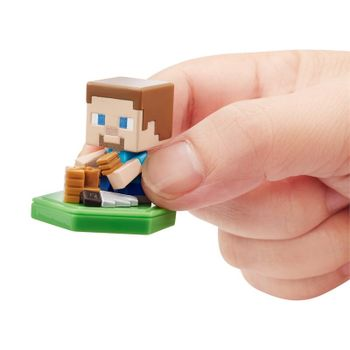Minecraft Earth - Crafting Steve Boost Minifigure