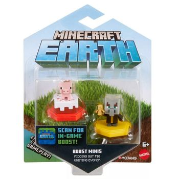 Minecraft Earth 2-Pack - Pig and Undying Evoker Boost Minifigures