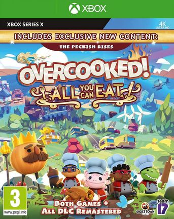 Xbox Series X Overcooked! All You Can Eat