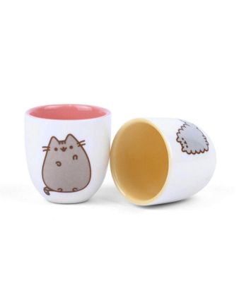 Pusheen - Stormy and Pusheen Egg Cup 2-Pack