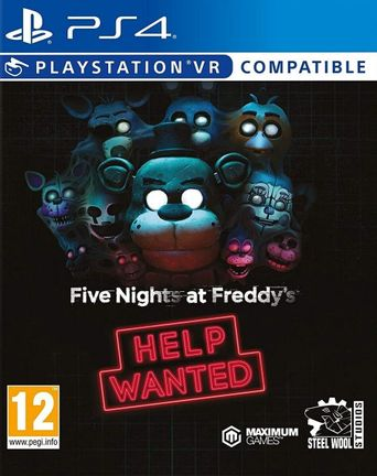 PS4 Five Nights at Freddy's: Help Wanted