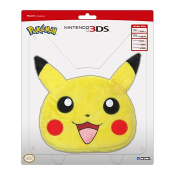 HORI Pokemon Pouch - Pikachu Plush XL (All 3DS)