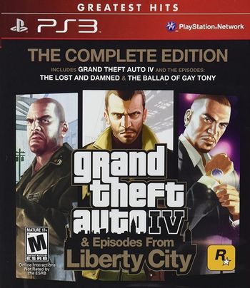PS3 Grand Theft Auto: Episodes from Liberty City US Version