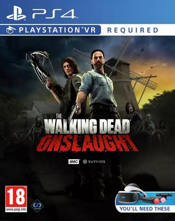 PS VR Walking Dead Onslaught
