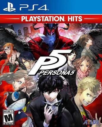 PS4 Persona 5 US Version