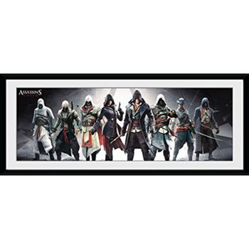 Framed Print: Assassin's Creed - Characters, 30x75cm