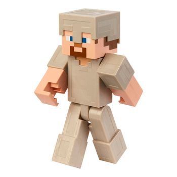 Minecraft - Steve in Iron Armor Action Figure, 20cm