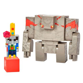 Minecraft Dungeons - Illiager & Golem Figures Action Figures