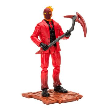 Fortnite: Solo Mode - Inferno Action Figure, 10cm