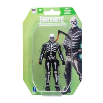 Fortnite: Solo Mode - Skull Trooper  Action Figure, 10cm