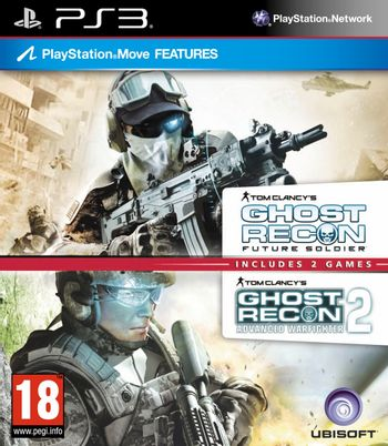 PS3 Tom Clancy's Ghost Recon Double Pack: Future Soldier, Advanced Warfighter 2 [USED] (Grade A)