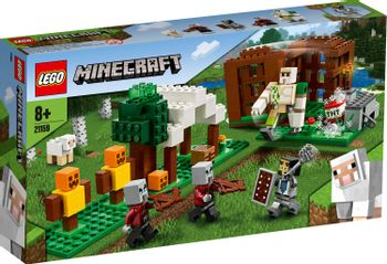 LEGO Minecraft - The Pillager Outpost Building Set