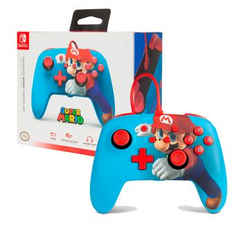 PowerA Enhanced Wired Controller - Mario Punch (Switch)