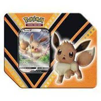 Pokemon V Powers - Eevee V Trading Card Game in Metal Case
