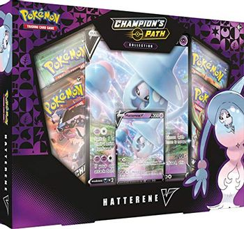 Pokemon: Champion's Path Collection - Hatterene V Trading Card Game