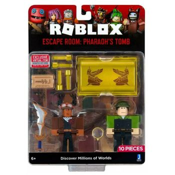 Roblox - Escape Room: Pharaon's Tomb Game Pack incl. 2 Mini Figures, 10 Pieces