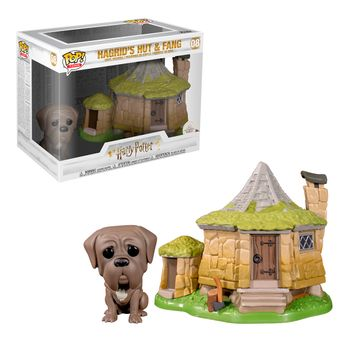 POP! Town: Harry Potter - Hagrid's Hut with Fang Vinyl Figure