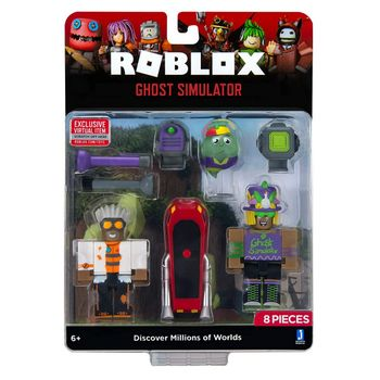Roblox - Ghost Simulator Game Pack incl. 2 Mini Figures, 8 Pieces