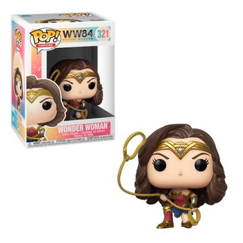 POP! Heroes: Wonder Woman 1984 - Wonder Woman with Lasso Vinyl Figure
