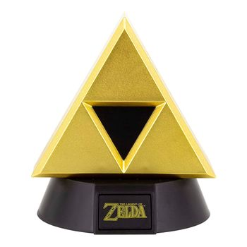 Legend of Zelda - Gold Triforce Icon Light, 10cm