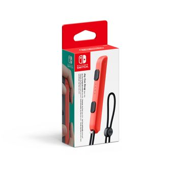 Switch Joy-Con Controller Strap Official - Neon Red