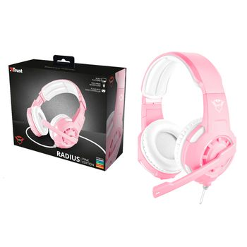 Trust GXT 310P Gaming Headset - Pink (PS4, Xbox One, Switch, PC)