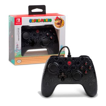 PowerA Enhanced Wired Controller - Shadow Bowser Edition (Switch)