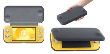Switch Lite Flip Cover and Screen Protector (Official)