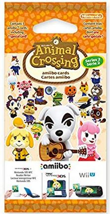 Amiibo Animal Crossing - Happy Home Designer Cards 3-Pack, Series 2