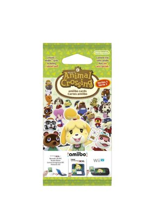 Amiibo Animal Crossing - Happy Home Designer Cards 3-Pack, Series 1