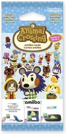 Amiibo Animal Crossing - Happy Home Designer Cards 3-Pack, Series 3