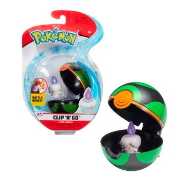 Pokemon: Clip 'N' Go - Litwick + Dusk Ball, Series 3