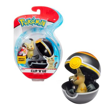Pokemon: Clip 'N' Go - Mimikyu + Luxury ball, Series 3