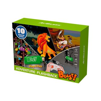 Adventure Flashback Blast! - TV Wireless HD Joystick incl. The Lion King