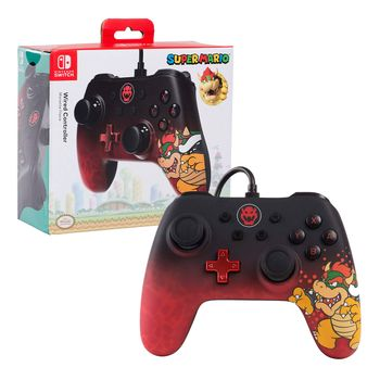 PowerA Enhanced Wired Controller - Bowser (Switch)