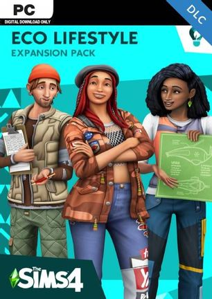 PC Sims 4: Eco Lifestyle Expansion Pack - Digital Download