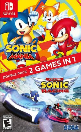 SWITCH Sonic Mania + Team Sonic Racing Double Pack US Version