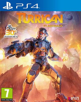 PS4 Turrican Flashback
